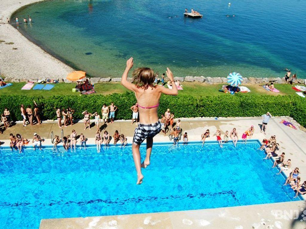 Les plus belles piscines de Suisse romande - Piscines du Nid-du-Crô à Neuchâtel