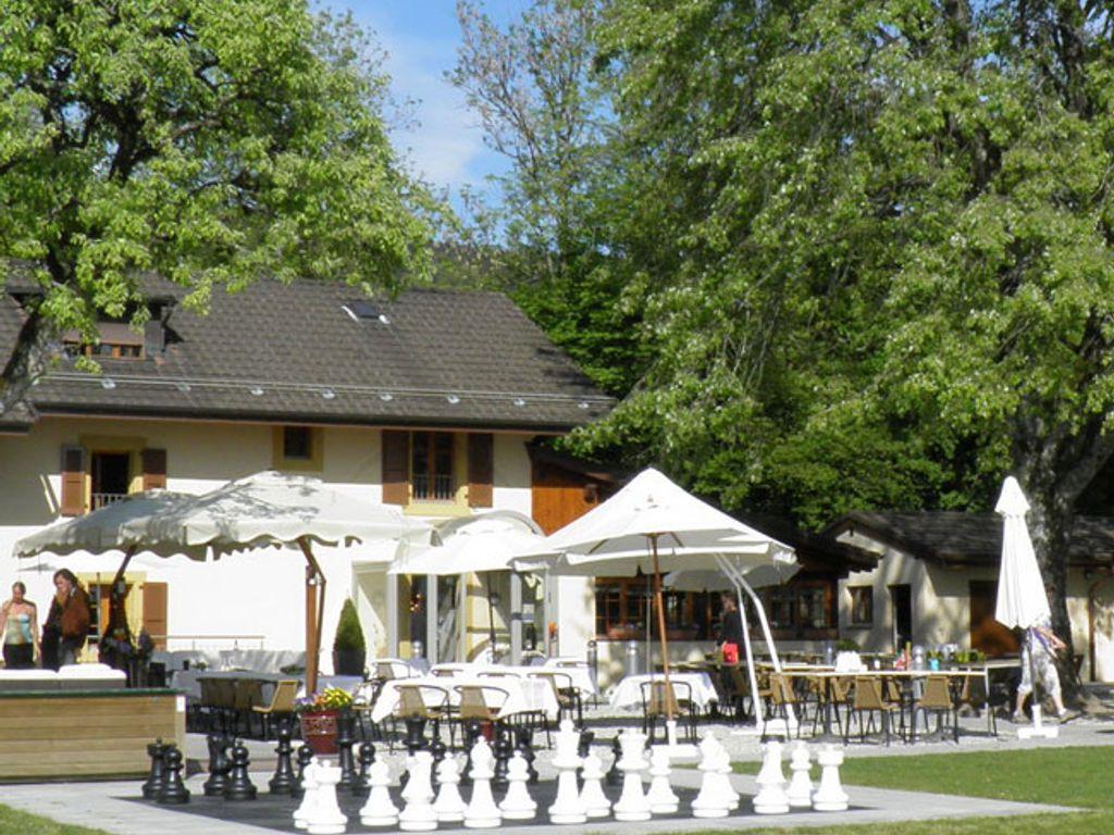 Plus belles terrasses de Suisse romande - Restaurant La Buritaz à Puidoux