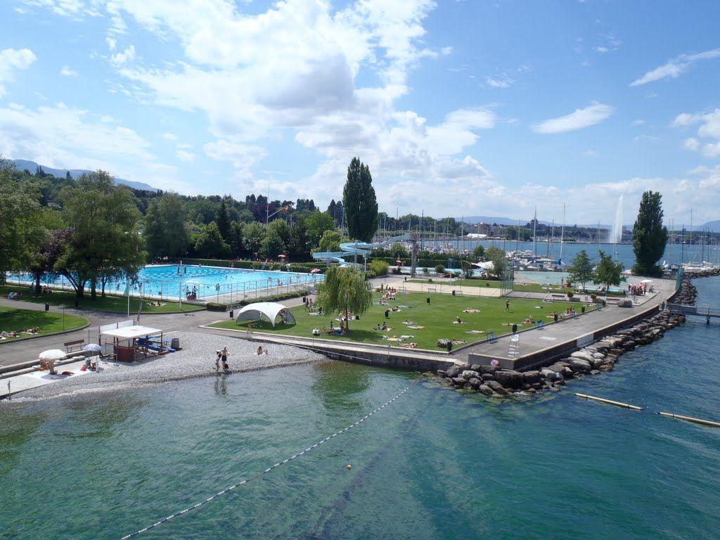 Les plus belles piscines de Suisse romande - Genève-Plage