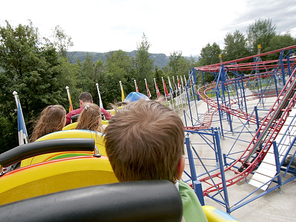 Happyland à Granges en Valais - le plus grand parc d'attractions de Suisse romande
