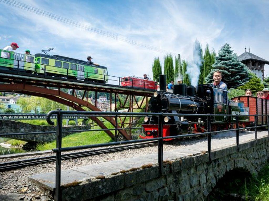 Le parc d'attractions Swiss Vapeur Parc et ses trains miniatures au Bouveret