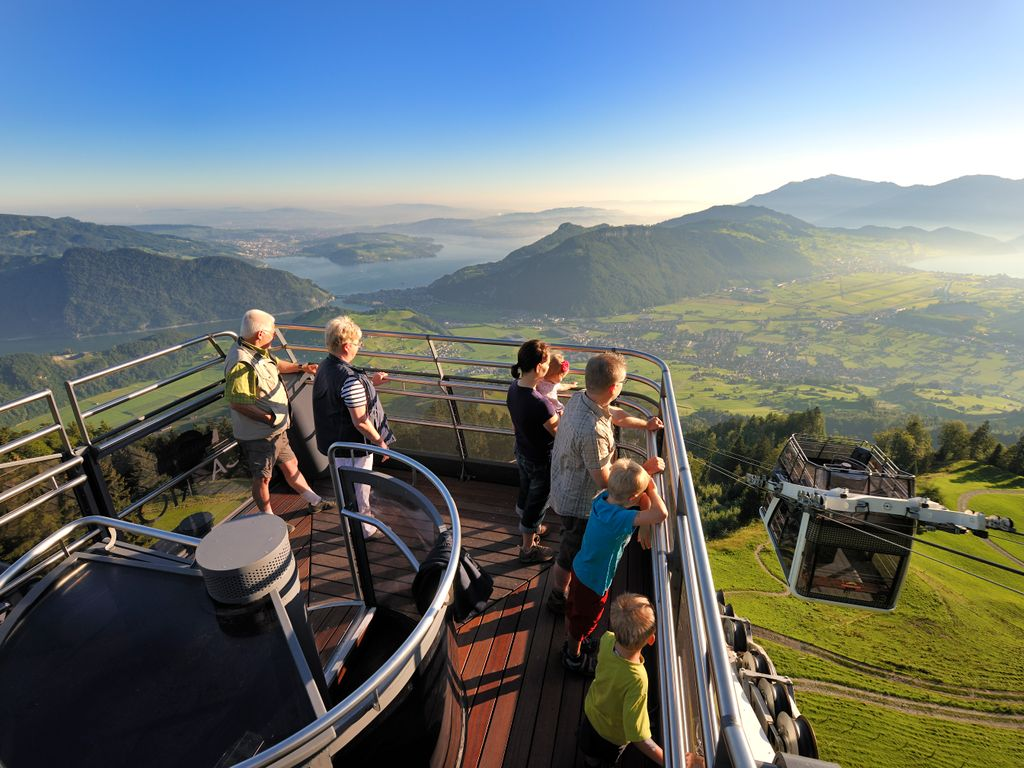 CabriO - Le premier téléphérique au monde à toit ouvert