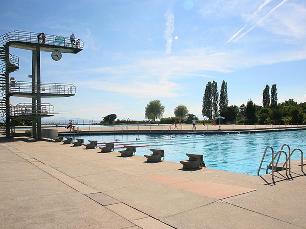 Les plus belles piscines de Suisse romande - Piscine de Bellerive - Lausanne