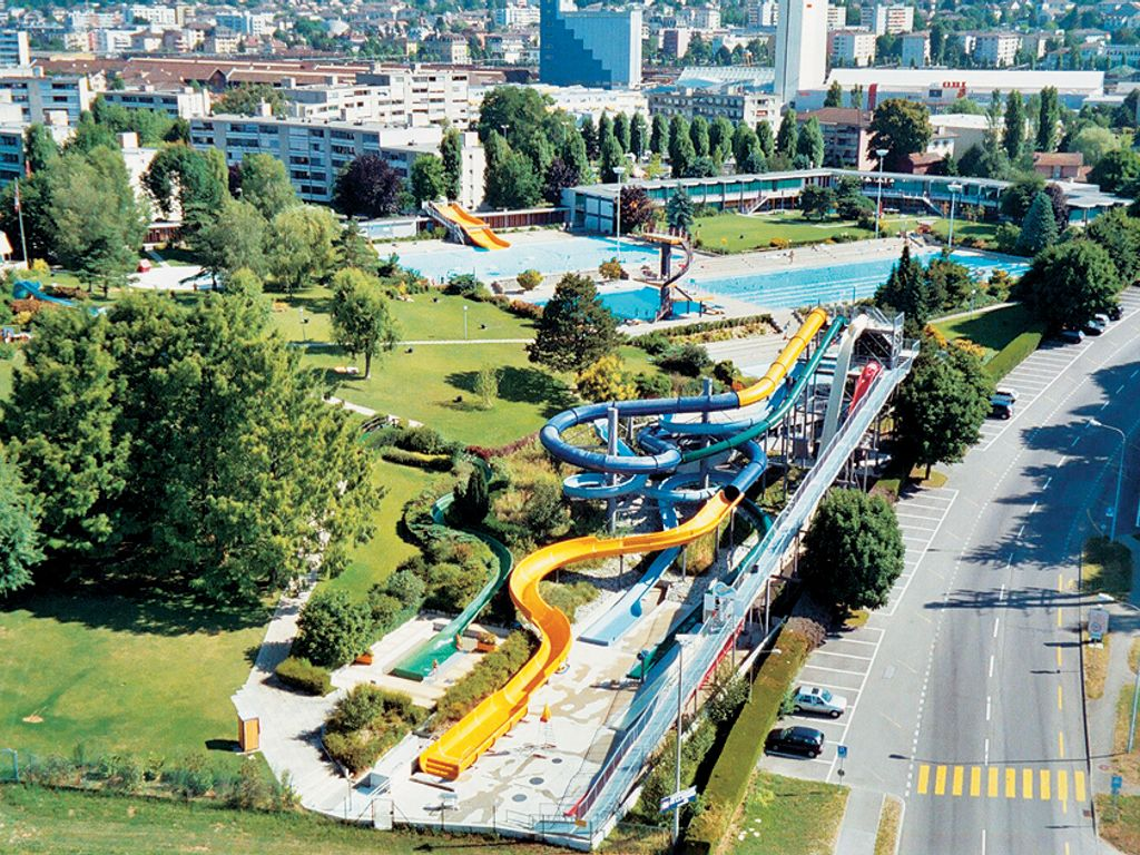 Les plus belles piscines de Suisse romande - Aquasplash Renens