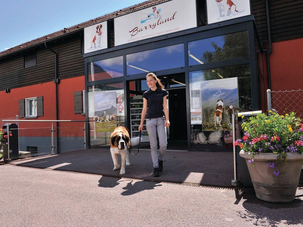 Barryland - Musée des chiens Saint-Bernard à Martigny