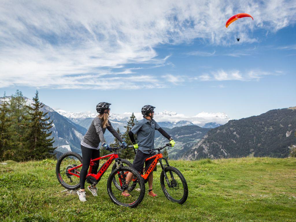 E-bike en Suisse romande - Les plus belles balades avec location pour découvrir le vélo électrique – Clambin et val de Bagnes au départ de Verbier