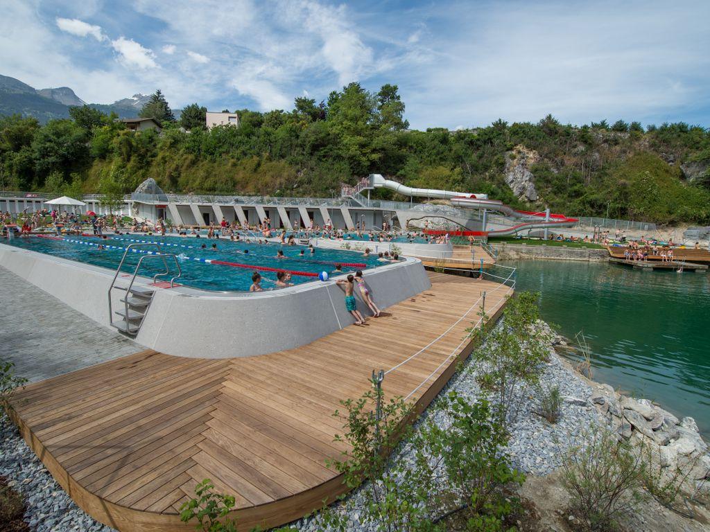 Les plus belles piscines de Suisse romande - Bains de Géronde à Sierre