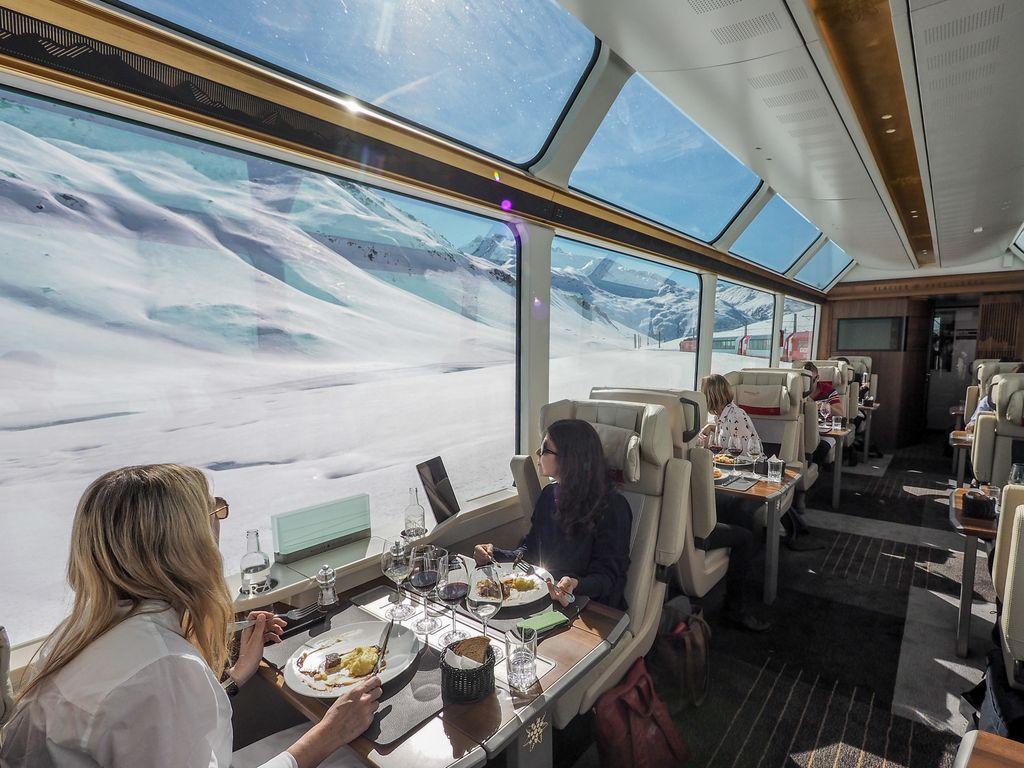 Trains suisses de légende - Glacier Express