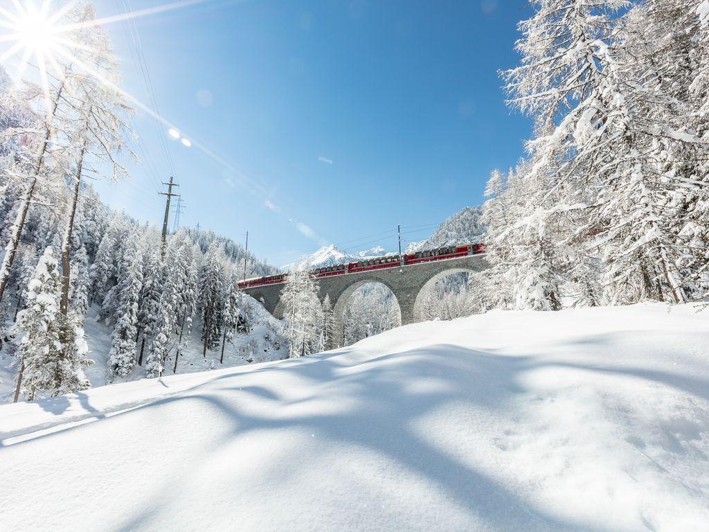 Trains suisses de légende - Bernina Express