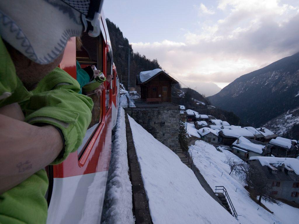 Trains suisses de légende - Mont-Blanc Express