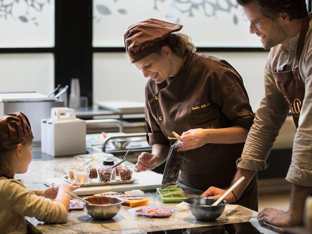 Maison Cailler, chocolaterie suisse à Broc