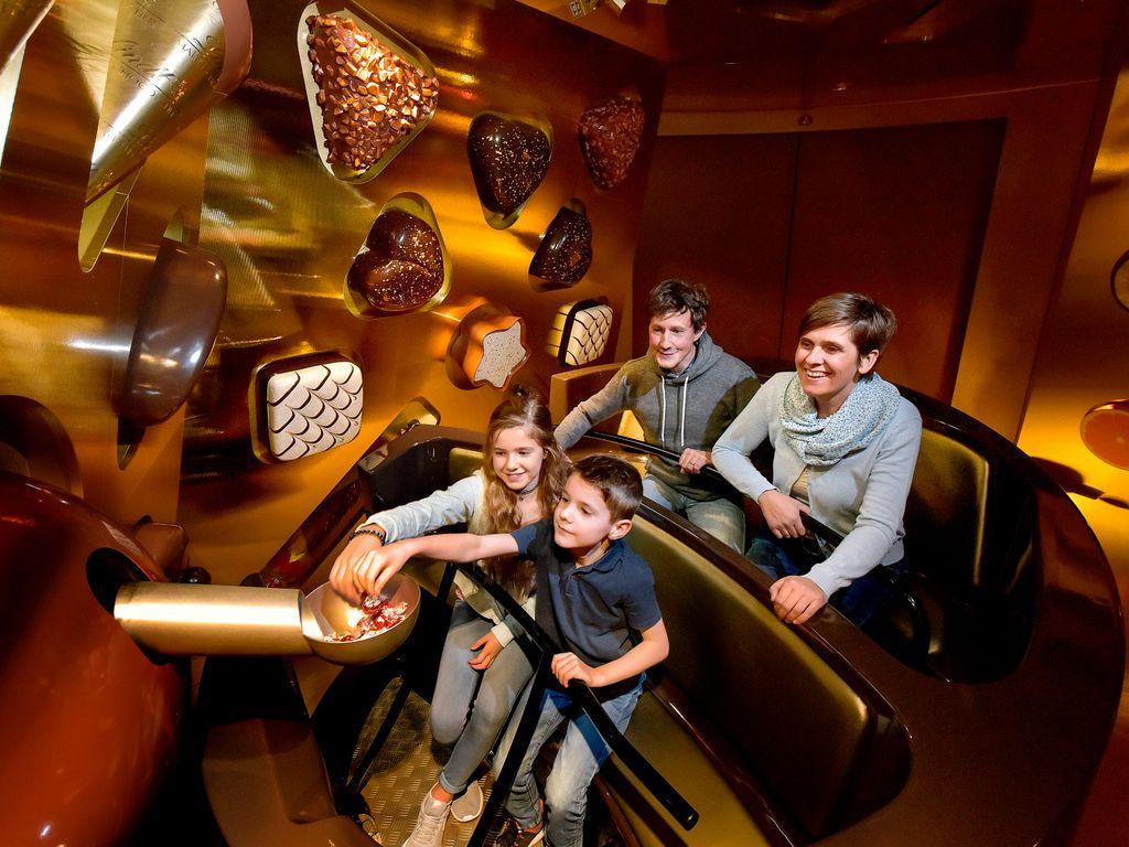 Swiss chocolate adventure au Musée suisse des transports à Lucerne