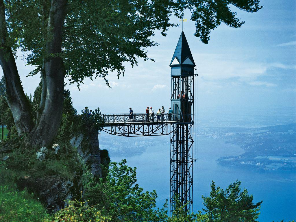 Ascenseur du Hammetschwand - Record de l'ascenseur extérieur le plus haut du monde