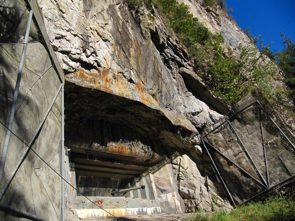 Visite insolite du fort de Litroz dans la vallée du Trient