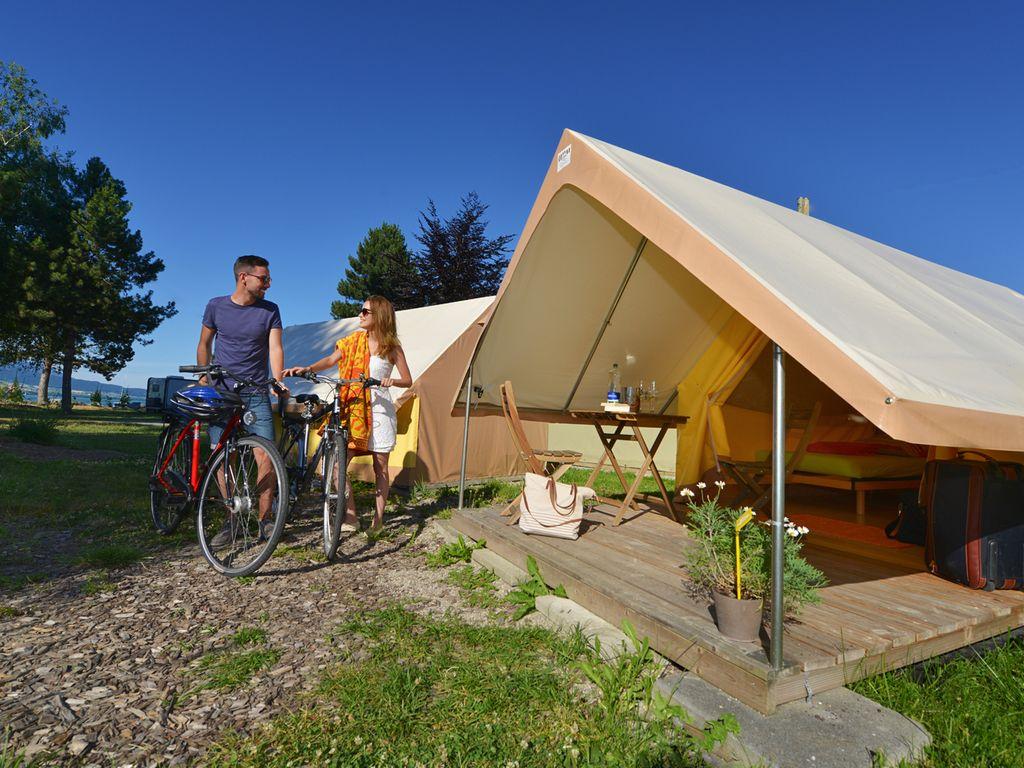 Meilleurs campings de Suisse - Camping d'Yverdon Plage