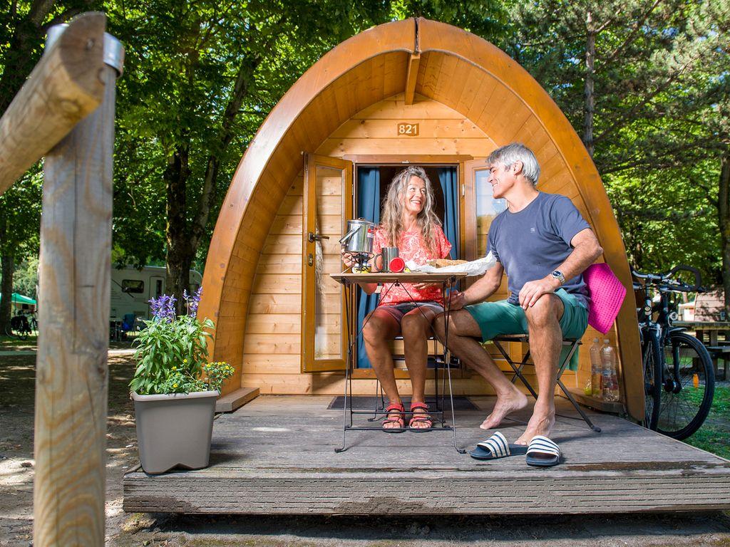 Meilleurs campings de Suisse - TCS Camping des Iles à Sion