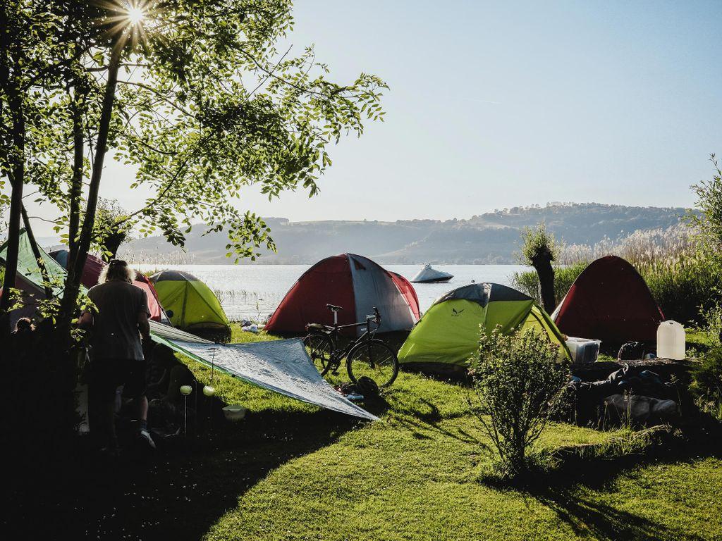 Meilleurs campings de Suisse - Camping de Muntelier dans le canton de Fribourg