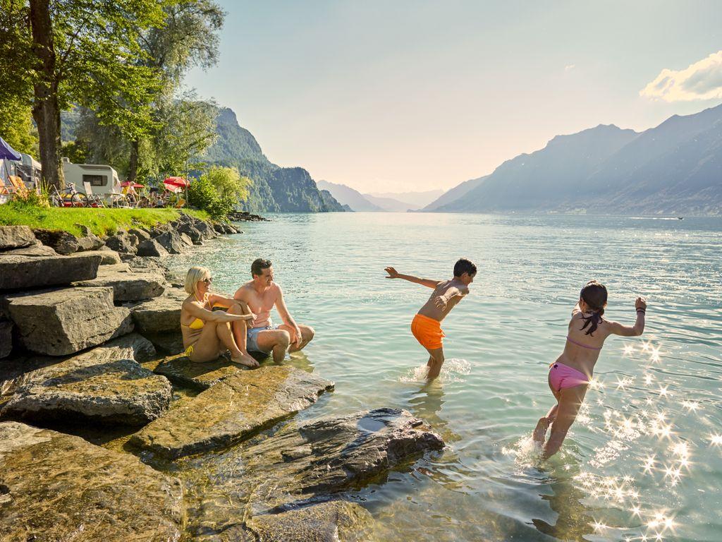 Meilleurs campings de Suisse - Camping d'Aaregg au lac de Brienz