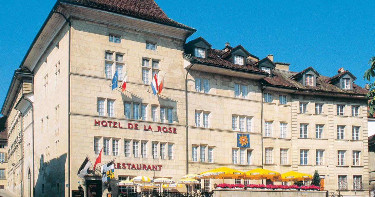 Hotel De La Rose Fribourg