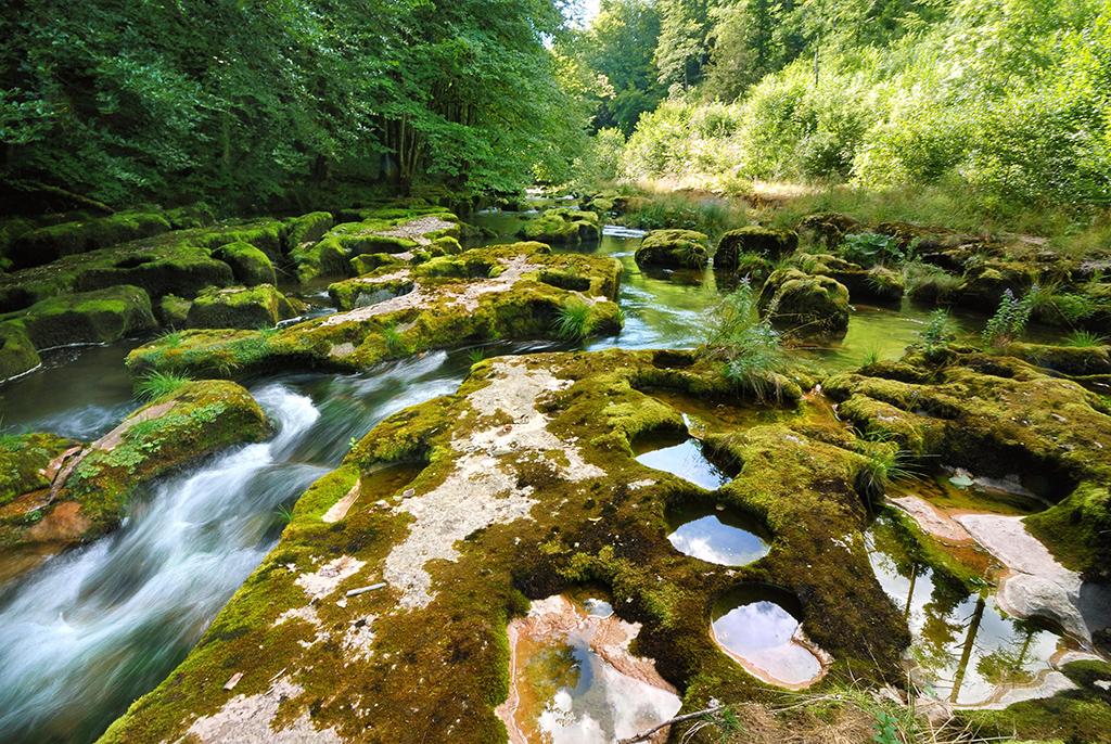 Les plus belles gorges naturelles de Suisse - Gorges de l'Orbe