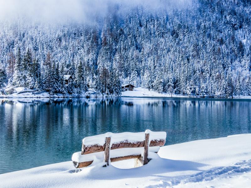 Sites hivernaux féeriques de Suisse romande: Champex-Lac