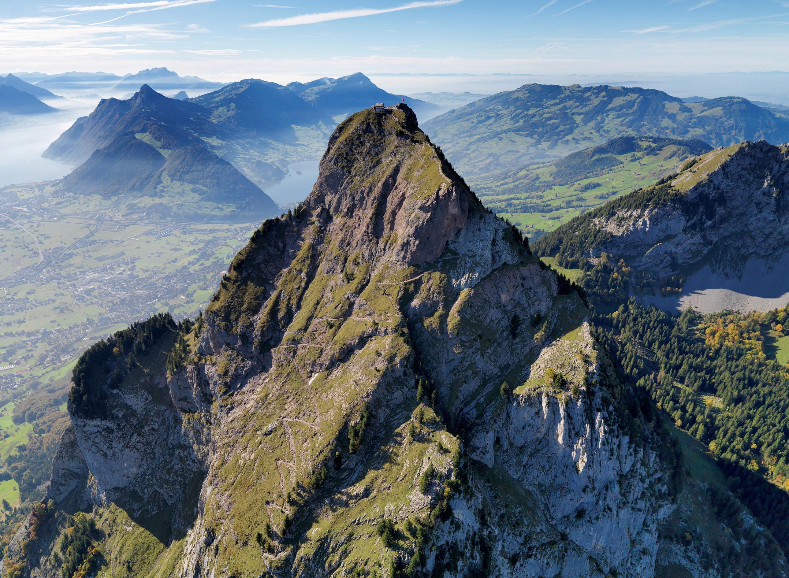 Montagne Grand Mythen Canton Schwytz