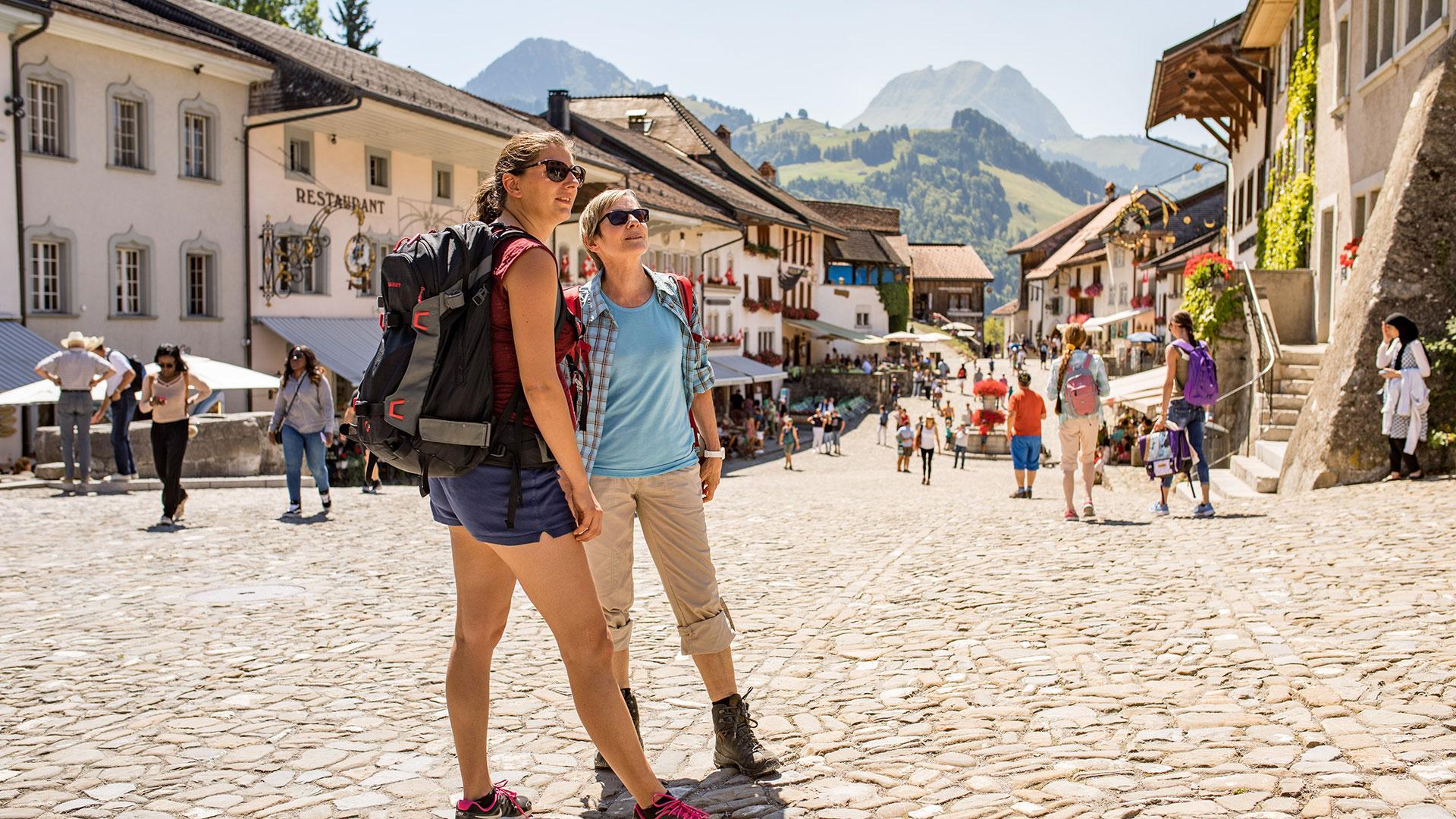 Les plus beaux villages de Suisse romande - Gruyères (Fribourg)