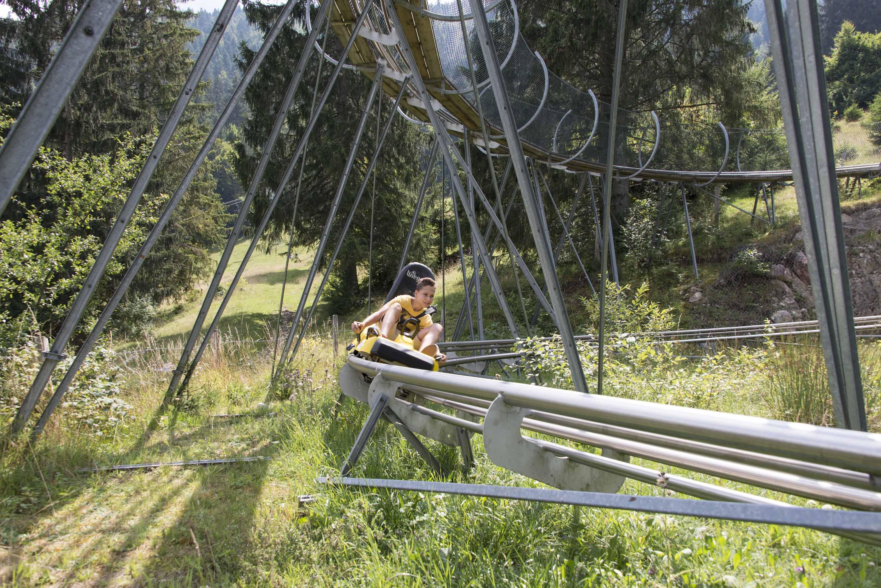 Parc de loisirs de La Robella: luge féeline