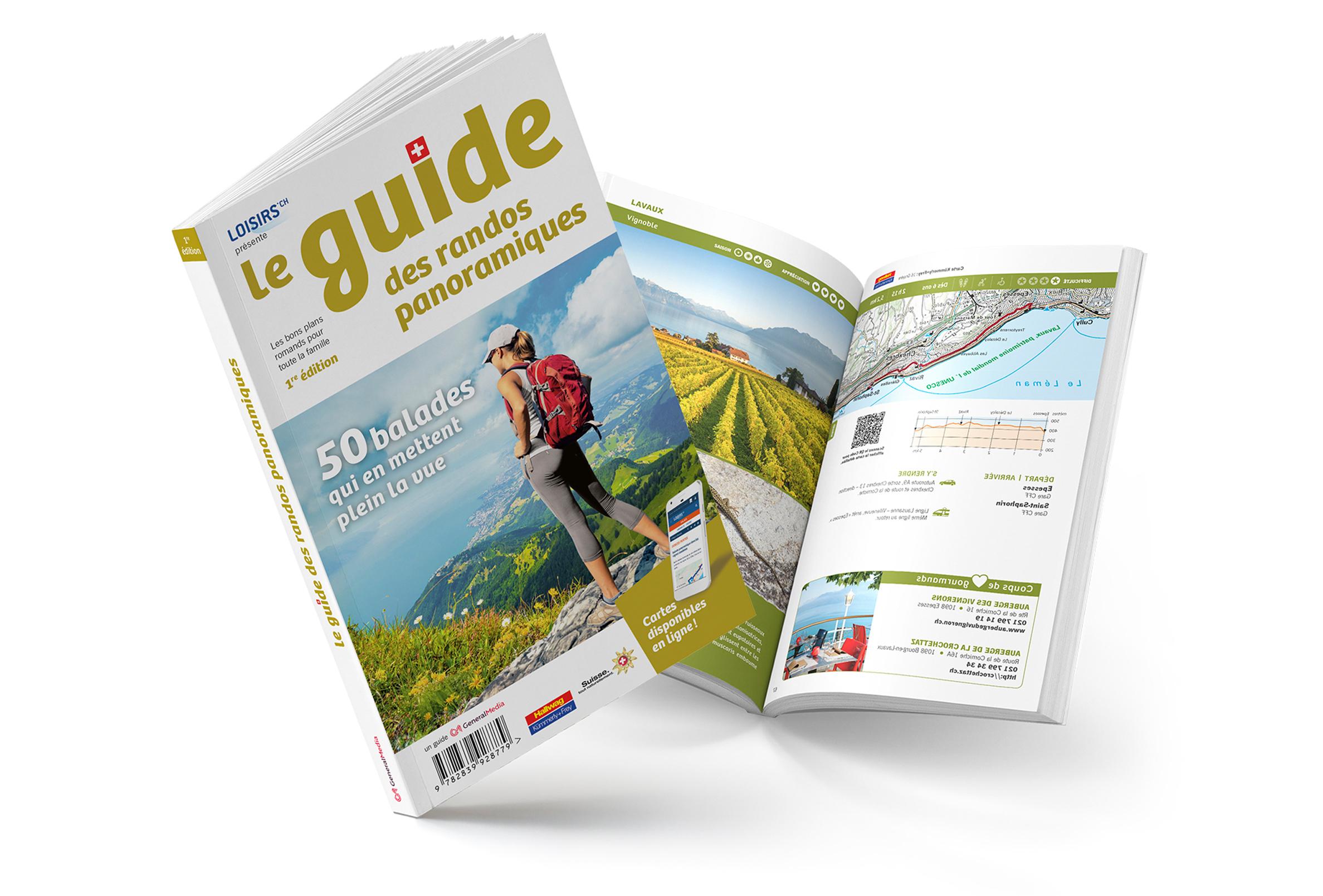 Guide des randos panoramiques - 50 balades à la découverte des plus beaux paysages de Suisse romande