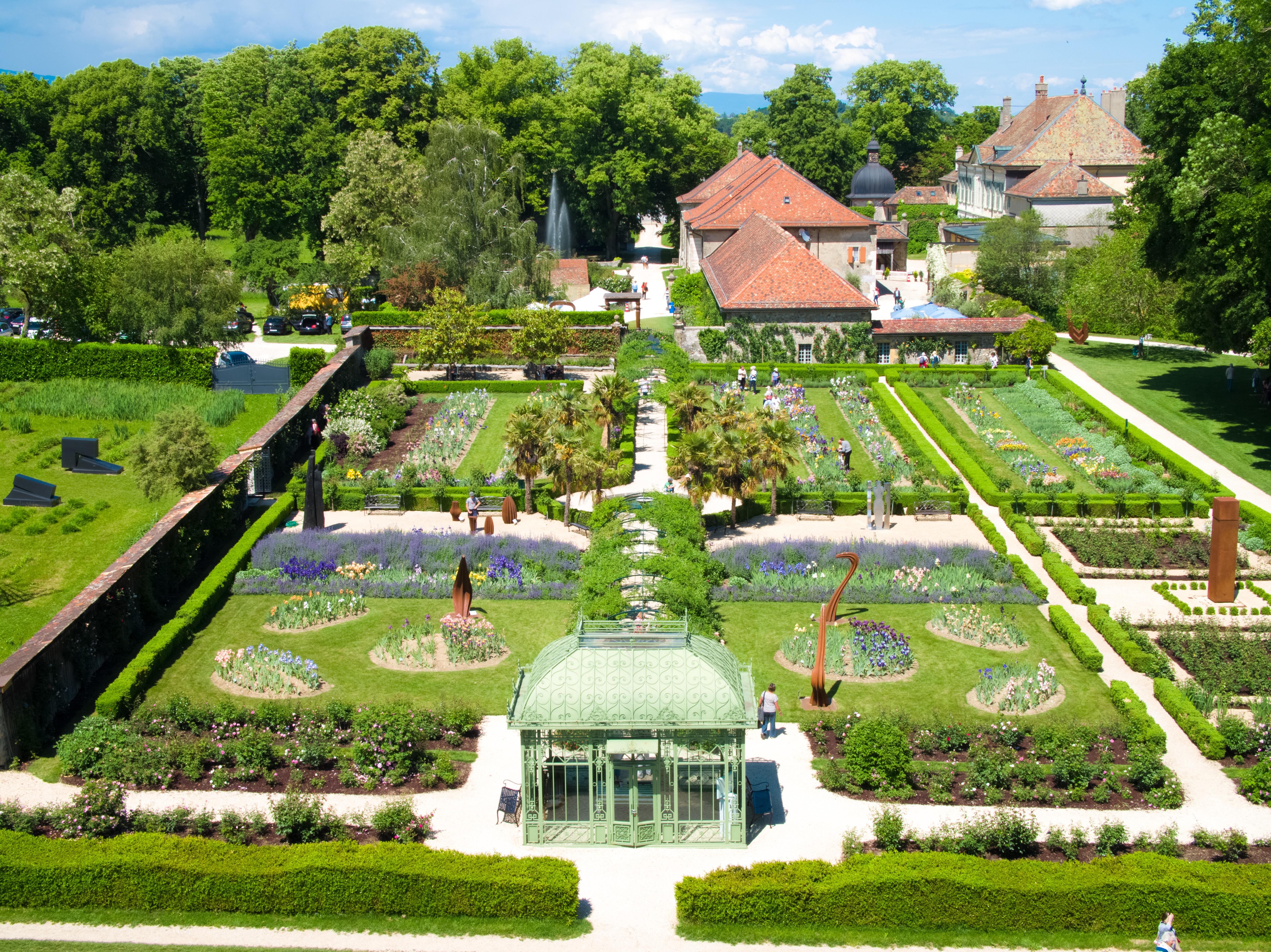 Gärten von Schloss Vullierens