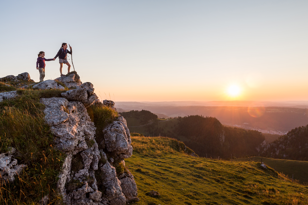 Balade panoramique en Suisse romande - Crêtes du Chasseral