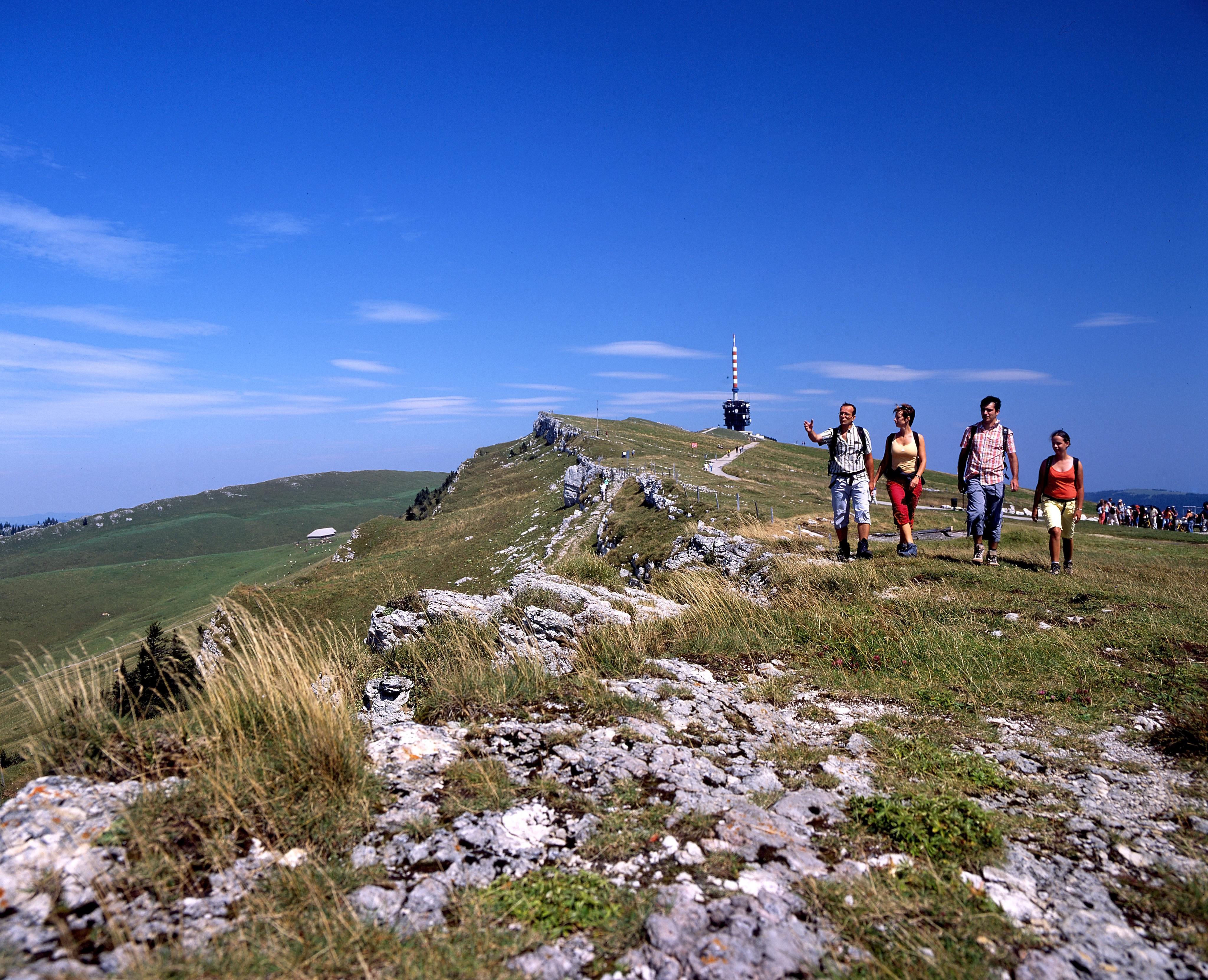Top 150 des loisirs gratuits en Suisse romande - Balade didactique et panoramique sur la crête de Chasseral