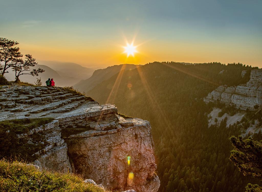 Balade panoramique en Suisse romande - Creux-du-Van