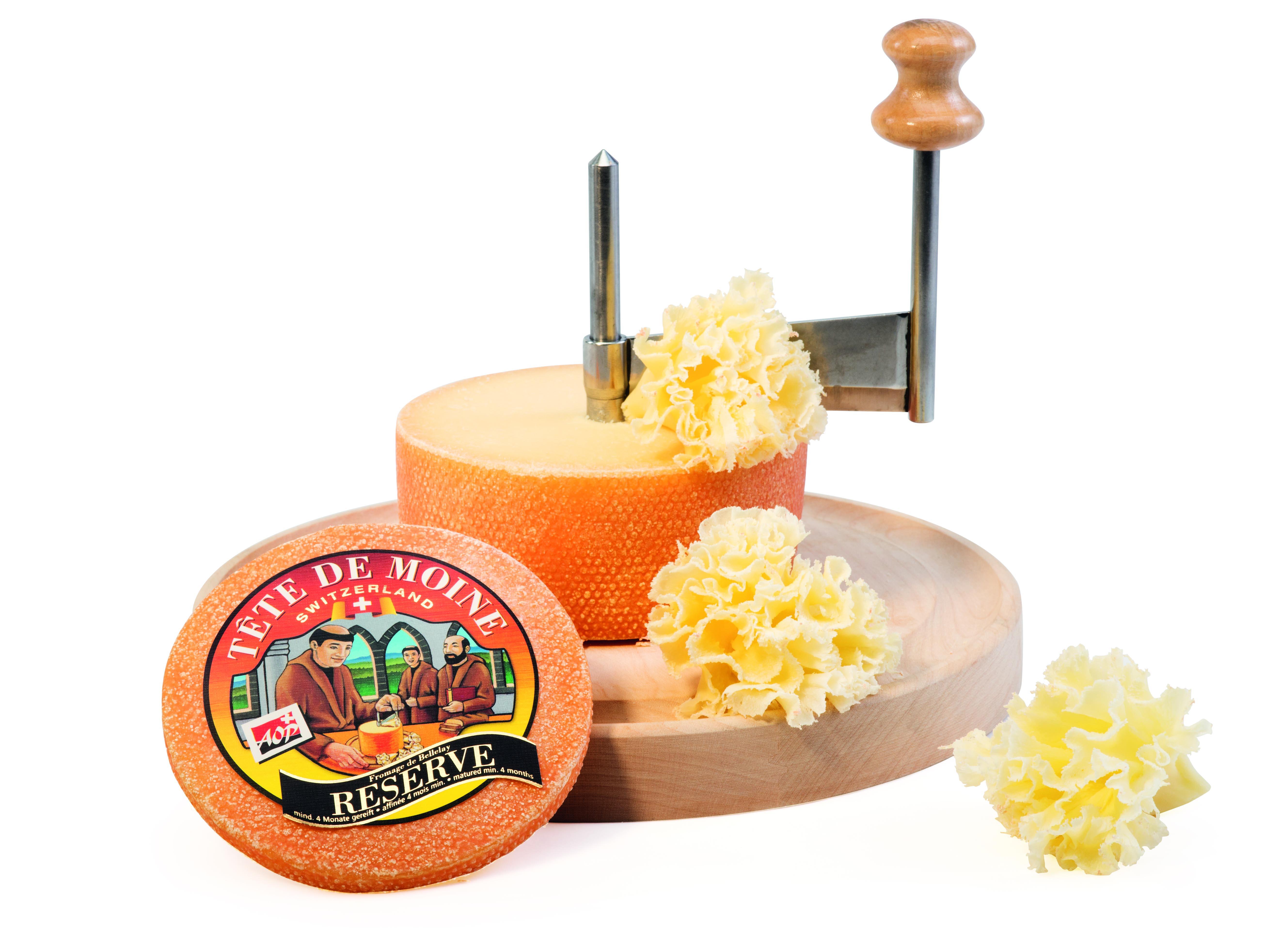 Fromages suisses - Tête de Moine