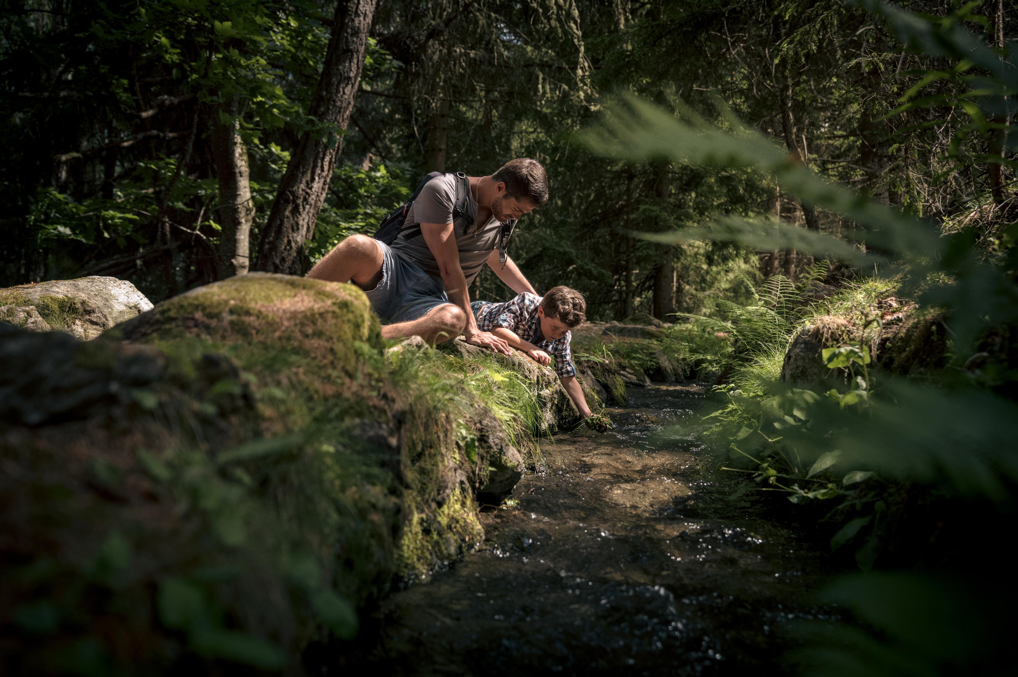 Les plus beaux bisses du Valais - Bisse Vieux et bisse du Milieu à Nendaz