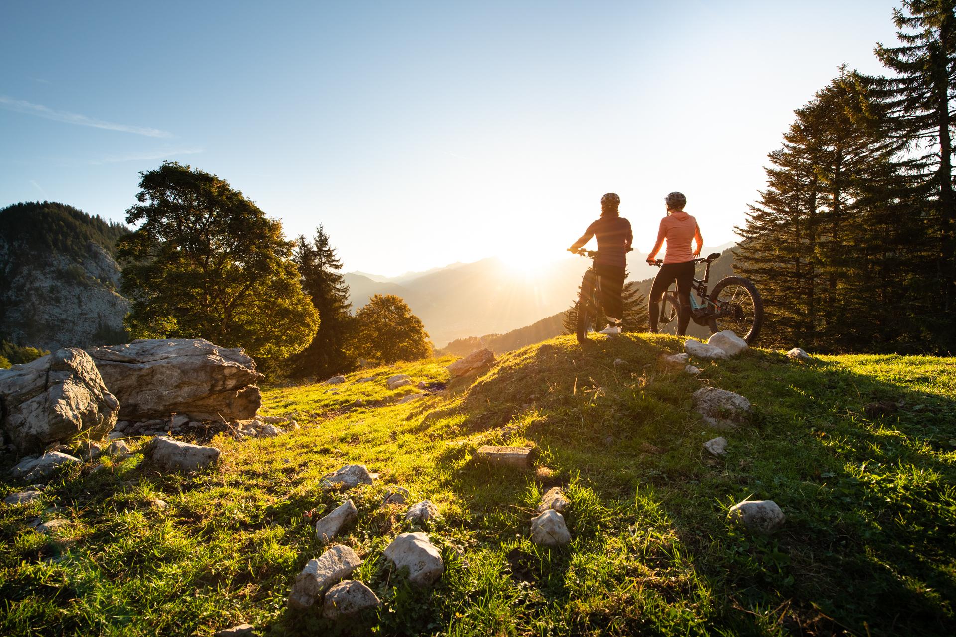 Les plus beaux itinéraires pour e-bike en Suisse romande - E-Bike Park de Torgon