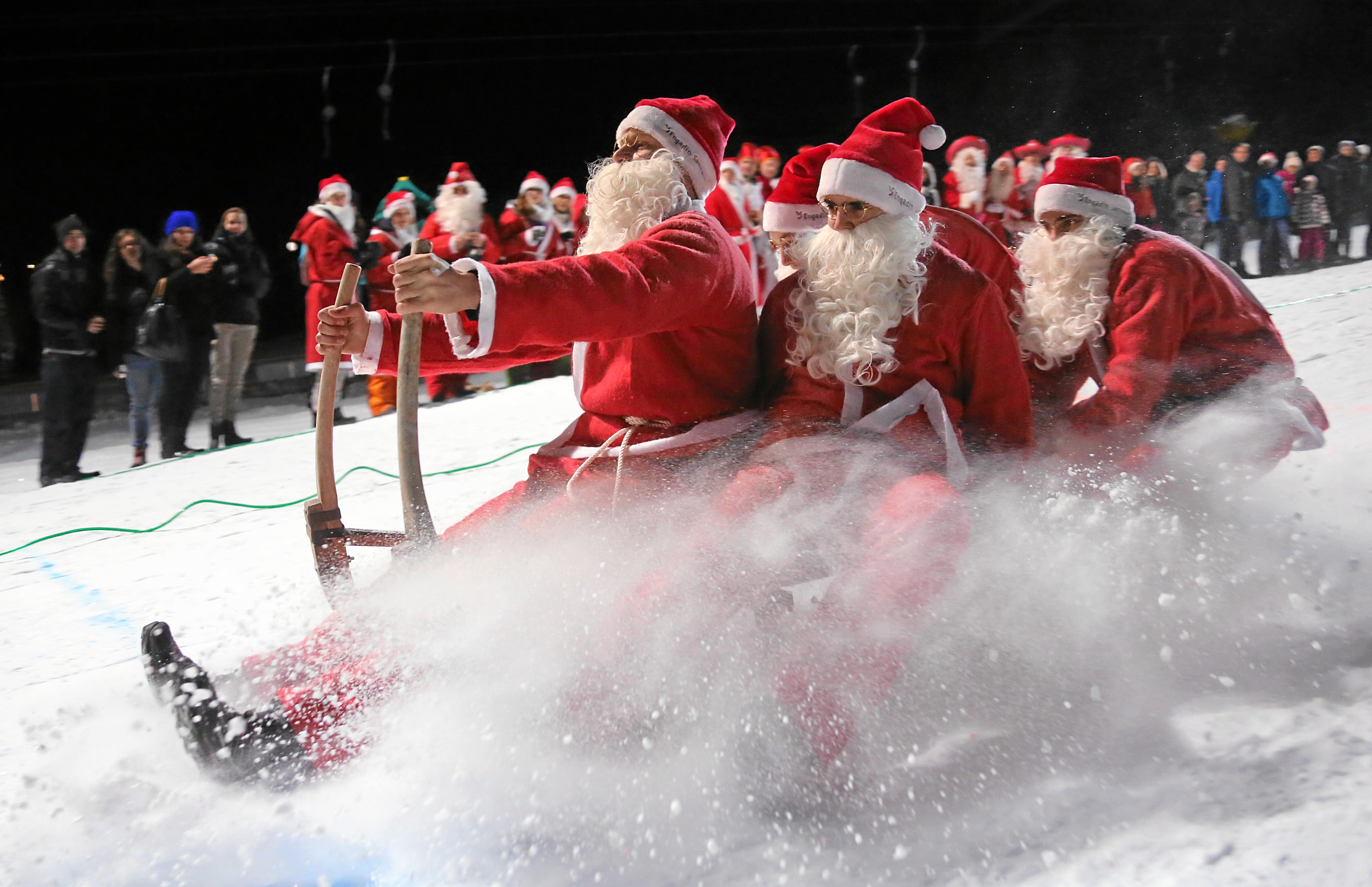 Traditions insolites de l'hiver suisse