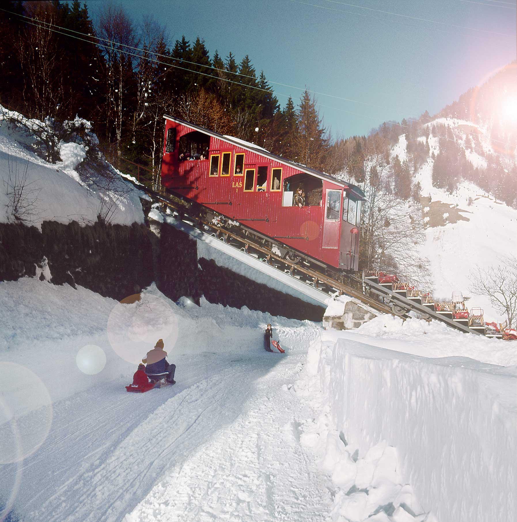 Les plus longues pistes de luge de Suisse romande