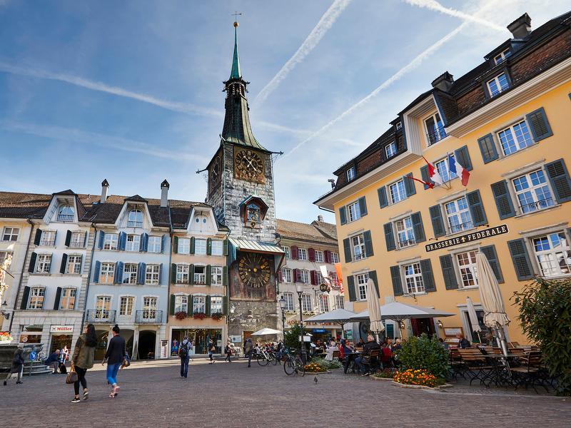 Visite de Soleure, la plus belle ville baroque de Suisse