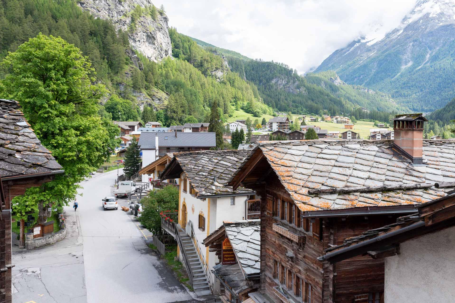 Les plus beaux villages de Suisse romande - Evolène (Valais)