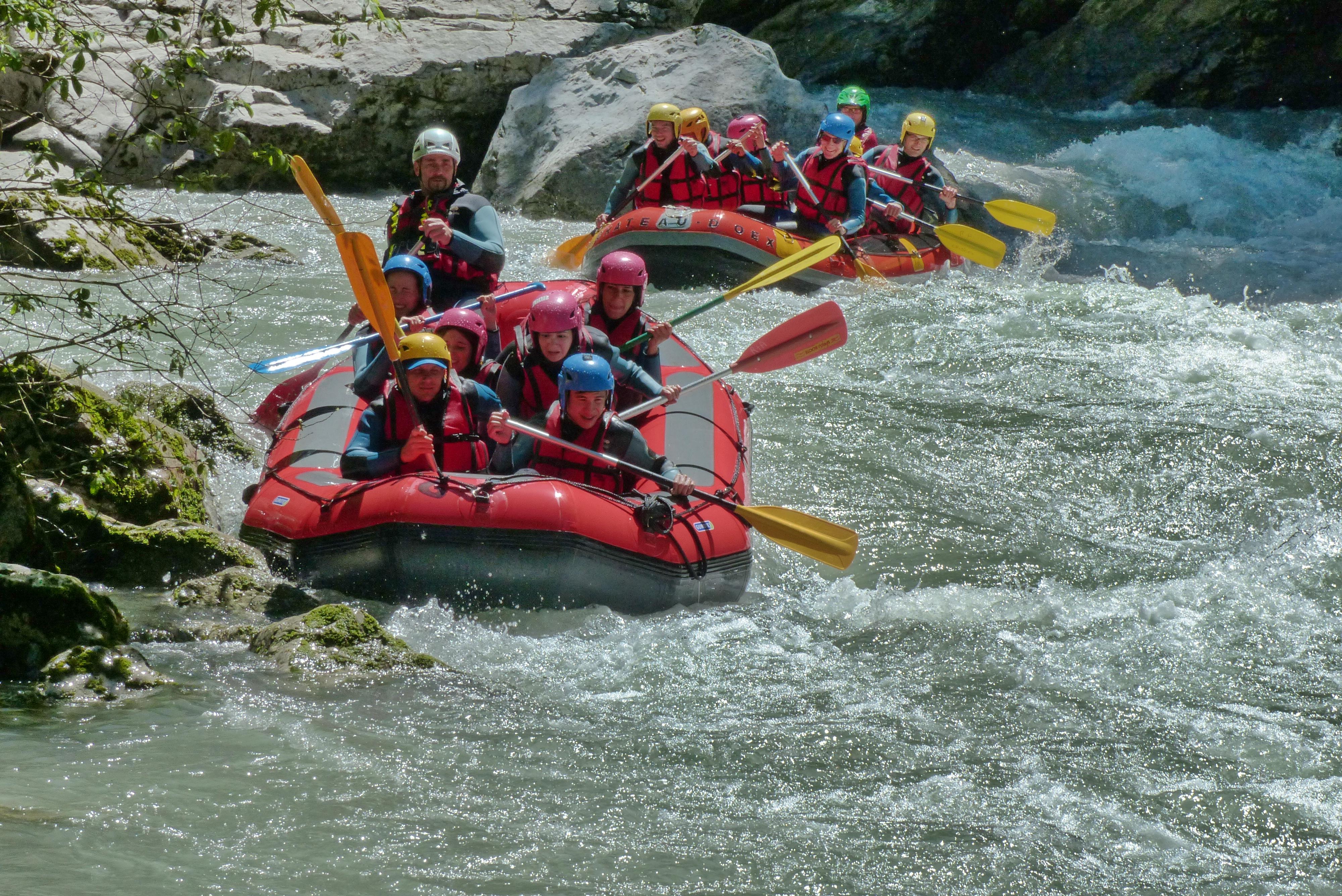 Bons plans pour vos vacances d'été en Suisse - Profitez d'activités fun dans les lacs et rivières du canton de Vaud