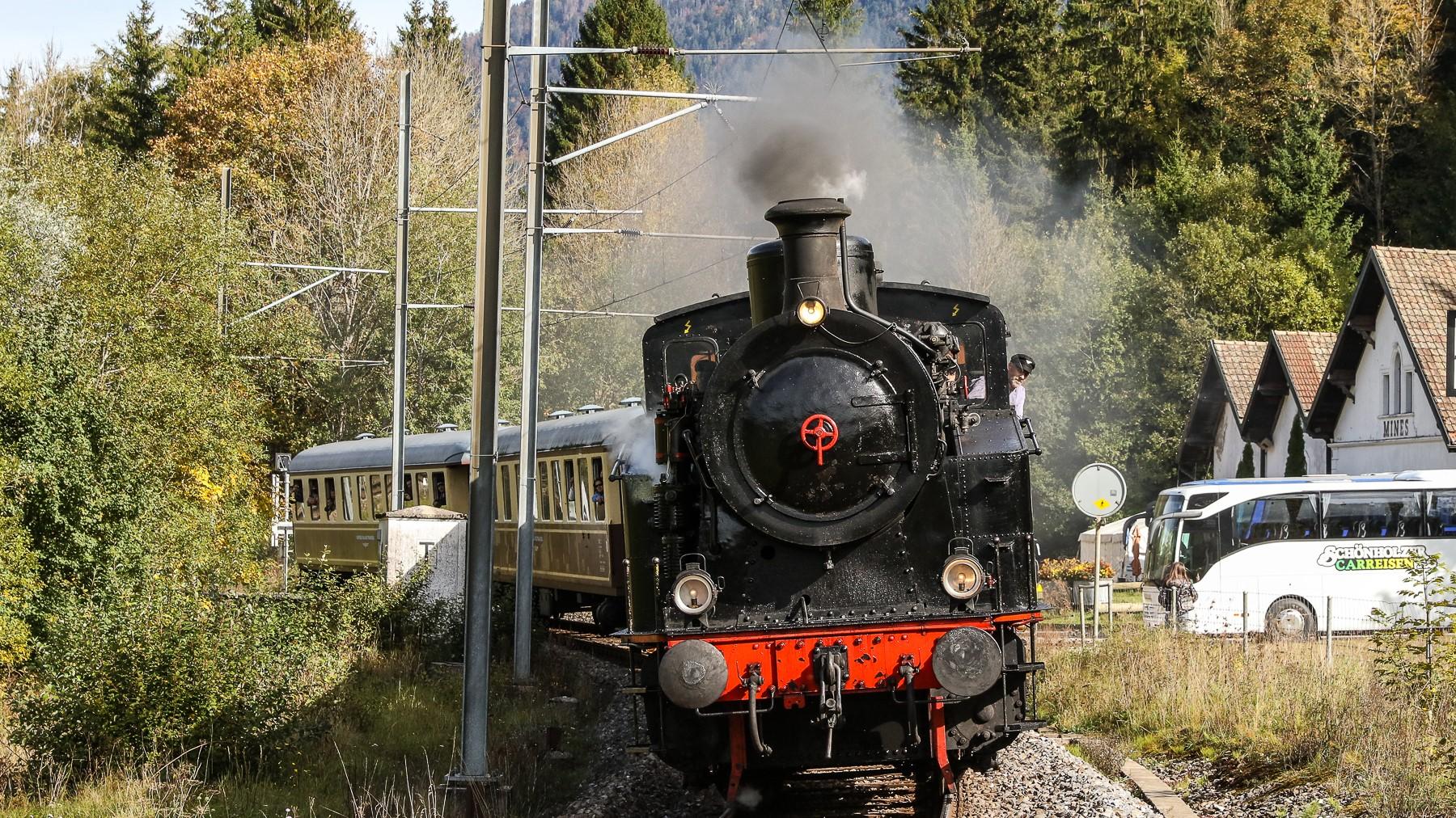 Dampflokomotive / Val-de-Travers