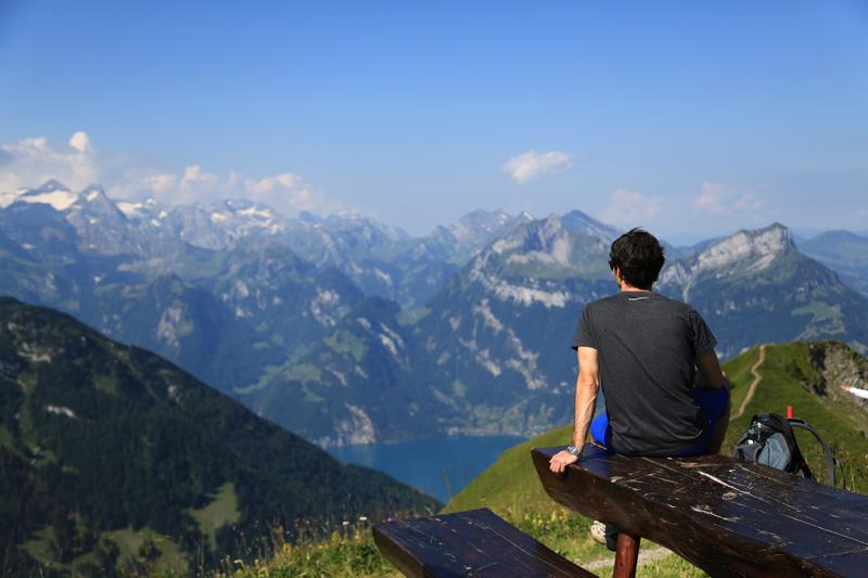 Schwyzt randonnée en montagne Gratwanderweg