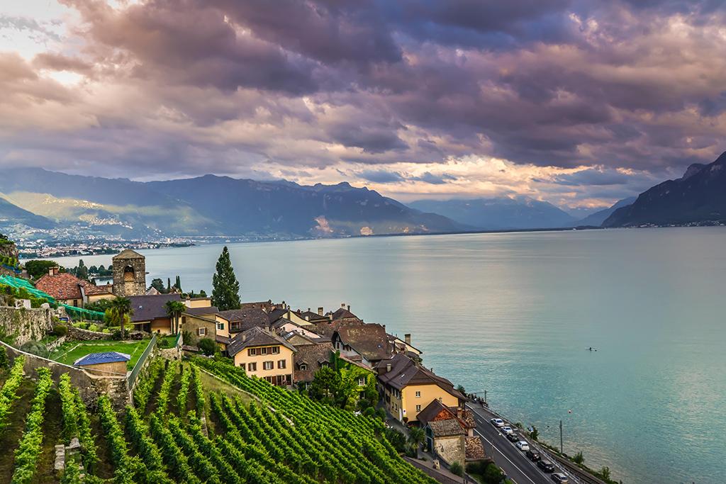 Les plus beaux villages de Suisse romande - St-Saphorin (Vaud)