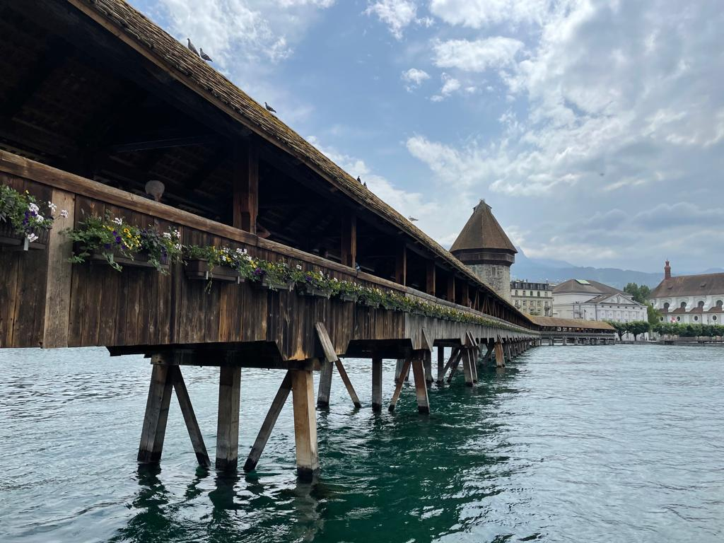 Voyage de la famille Cavadini: Lucerne