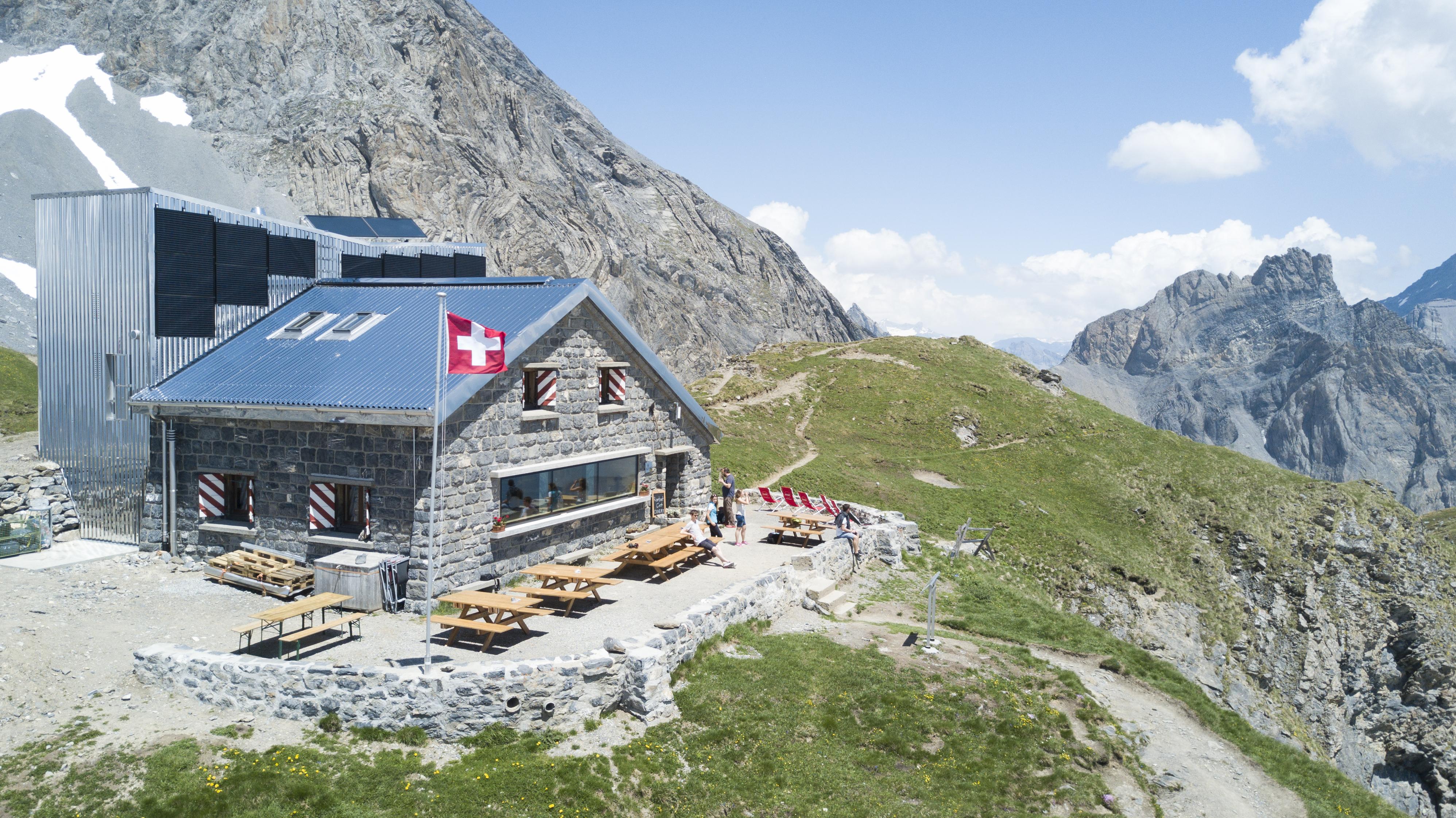 Les plus belles cabanes de montagne de Suisse - Cabane Rambert à Ovronnaz, Valais