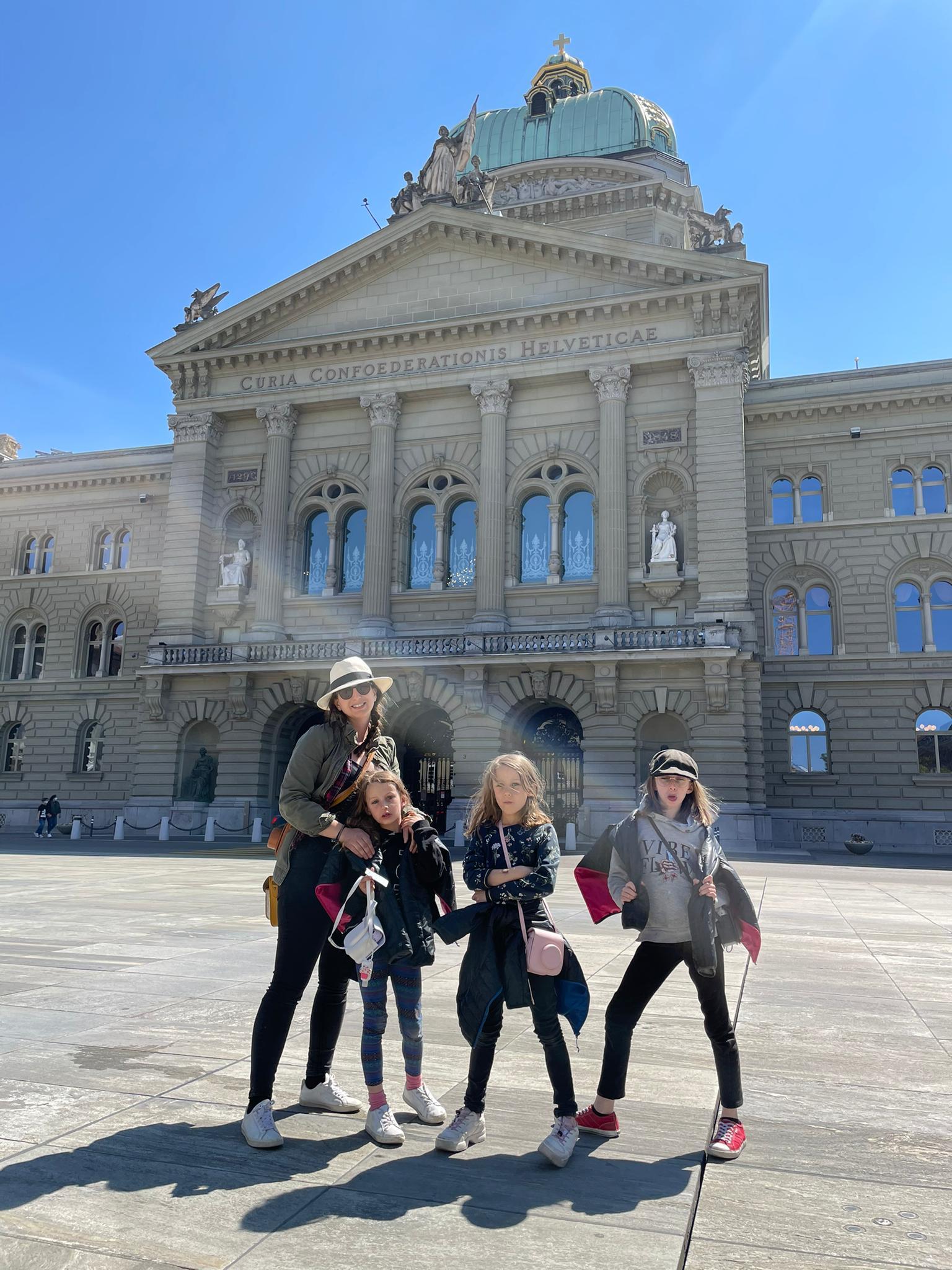 Voyage de la famille Cavadini: Berne
