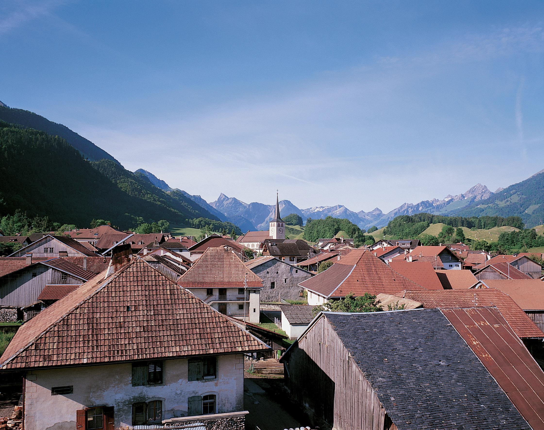 Les plus beaux villages de Suisse romande - Grandvillard (Fribourg)