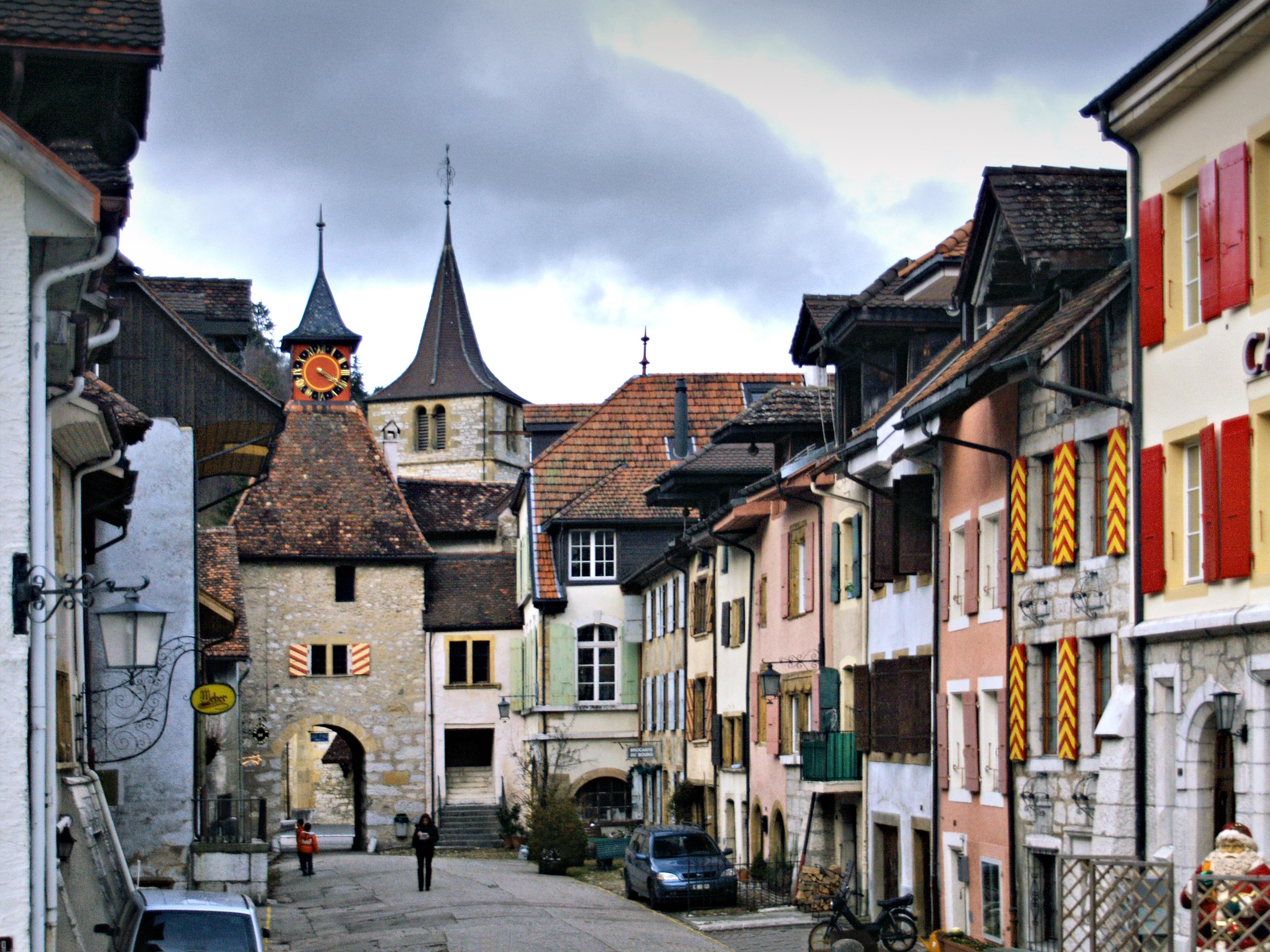 Les plus beaux villages de Suisse romande - Valangin (Neuchâtel)
