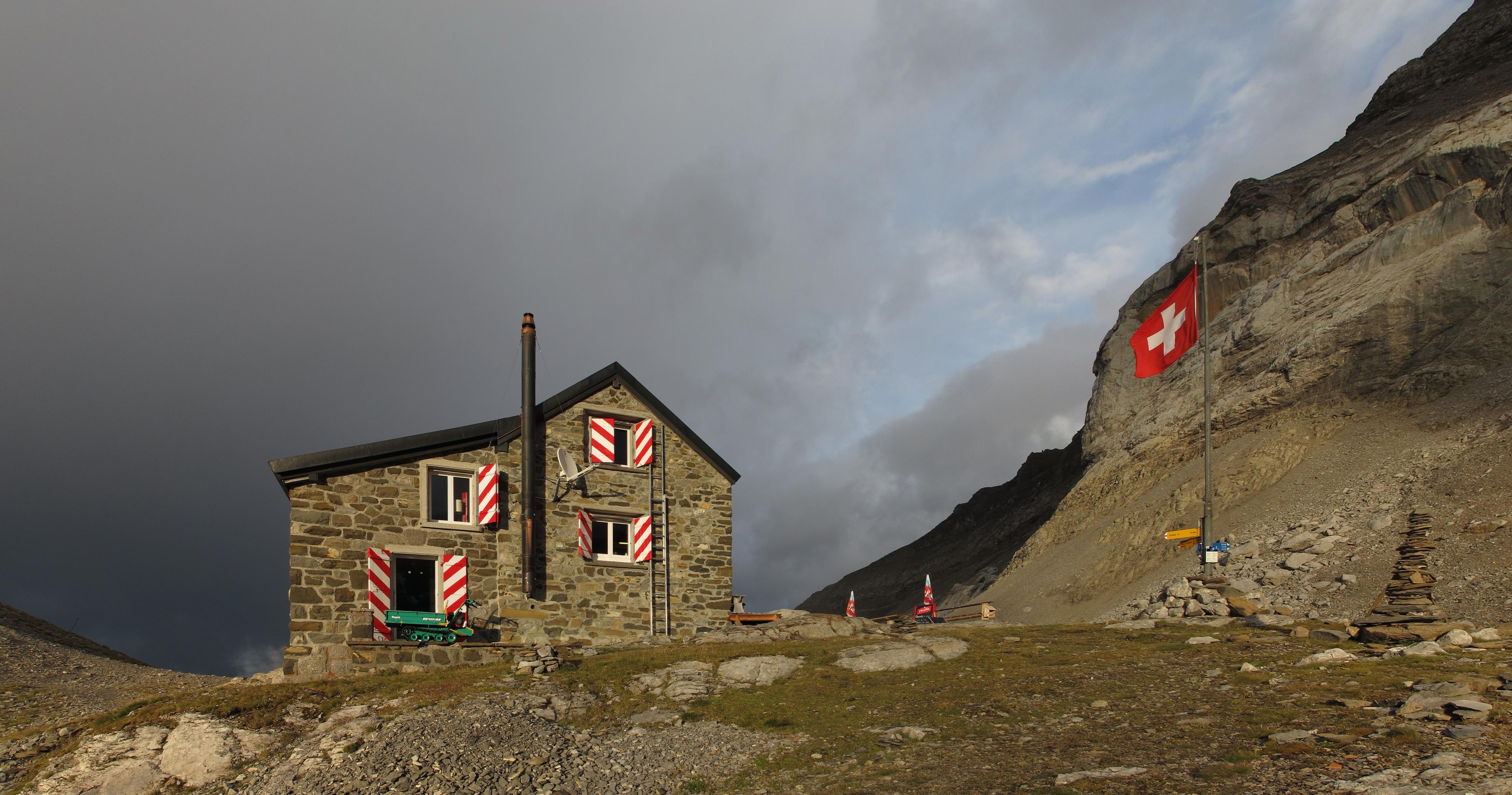 Les plus belles cabanes de montagne de Suisse - Cabane des Diablerets, Vaud